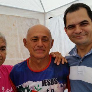Pr. Ivanildo Cavalcante, líder do Ministério Pessoal (UNB) também se engajou nos projetos