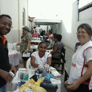 Feira de saúde no bairro Nova Imperatriz atrai a comunidade