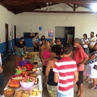 Café da manhã oferecido pelo Espaço Novo Tempo no Maranhão Novo