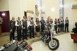 Líderes do motoclube foram homenageados