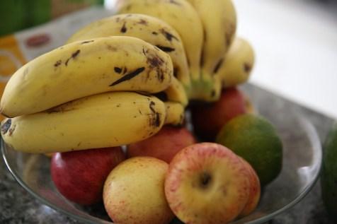 Um dos assuntos ensinados pelo Centro é alimentação saudável.