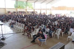 Foram mais de 600 adolescentes na programação