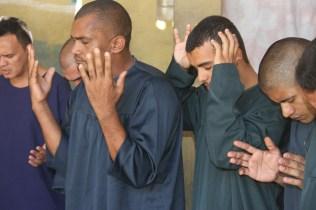 Oração antes do batismo