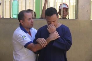 Dez detentos foram batizados
