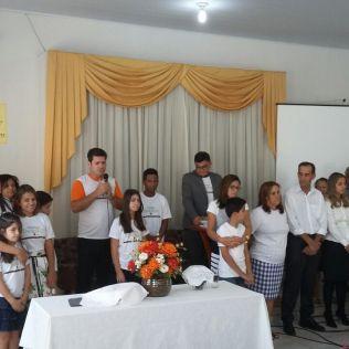 Testemunho e multiplicação de PG na IASD São Conrado, em Anápolis, GO.