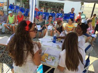 Gratuitas, as Feiras de Saúde são oferecidas regularmente pela Igreja Adventista em sete países sul-americanos (Foto: Fabiana Lopes)