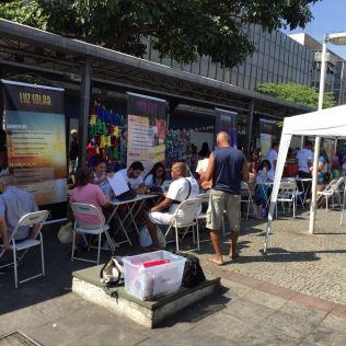 Ao todo, 16 Feiras foram realizadas em diversas localidades do Rio de Janeiro (Foto: Fabiana Lopes)