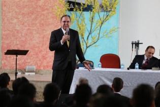 Pr. Hélio Carnassale ressaltou a importância da inclusão.