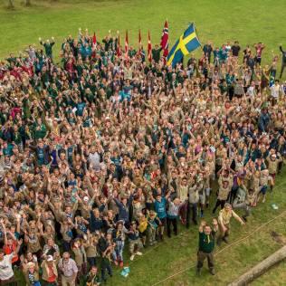 Campori de Desbravadores que reuniu representantes de países nórdicos. (Foto: Divisão Transeuropeia)