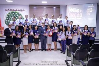 Colaboradores motivados para realizar o projeto 10 Dias De Oração