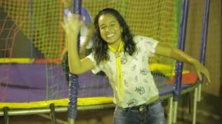 Muita alegria na Escola Adventista de Palmas, onde os jovens da região participaram de uma noite de esportes e lazer. (Foto: Comunicação MTo)