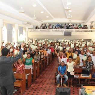 Pastor Jucimar Noya, líder de evangelismo para o sul da Bahia