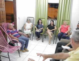 A programação teve início na igreja e continuou nos lares.