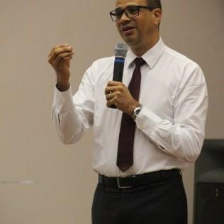 Líder de Mordomia Cristã para os Estados da Bahia e Sergipe, Pastor Luciano Salviano