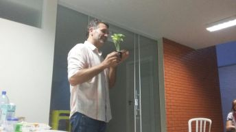 Palestra com Luciano Figueiró