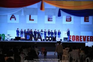 Congresso jovem reforça a parte espiritual dos participantes