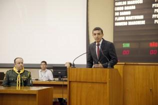 Pastor Giliard fala na Câmara