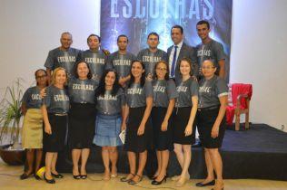 Equipe organizadora do Reencontro em Pedreiras-MA