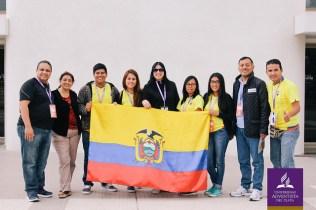 Diferentes idiomas e etnias se uniram em um só propósito: ressaltar o papel missionário dos jovens atualmente. Foto: UAP