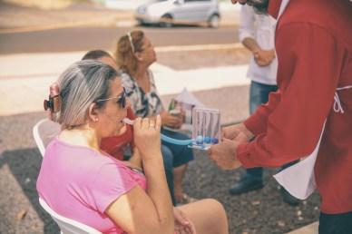 Feira levou mensagem de saúde, ensinando a comunidade sobre os benefícios dos oito remédios naturais.