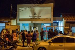 Igreja do Jardim Guanabará III, em Goiânia, GO. Primeira Igreja inaugurada por voluntários do Um Ano Em Missão, no Estado.