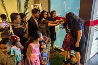 Missionários inauguram a primeira igreja do Jardim Guanabara III, em Goiânia, GO.