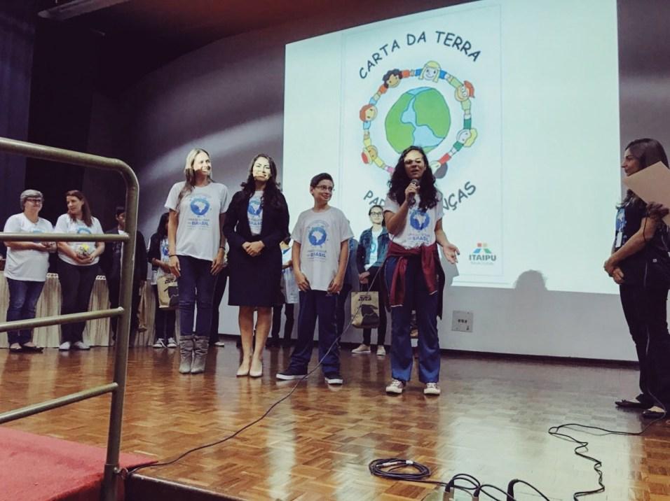 Na etapa regional, que aconteceu nesta terça (27), 35 escolas de Foz do Iguaçu apresentaram seus projetos.