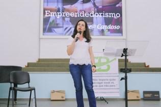 Aline Cardoso, Secretaria Municipal do Trabalho e Empreendedorismo (SMTE) (Crédito: Jédy Fersil)