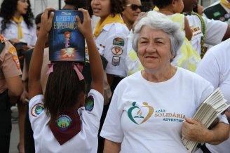 Em Andrade Araújo a ação contou com mais novos e mais experientes na ação.