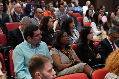 Reunião contou com a presença de profissionais de todo o Brasil e de outros países sul-americanos