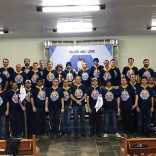Pastores do sul e da zona da mata de Minas Gerais participam do Pastori da AMS. (Foto: Arquivo Pessoal/Gustavo Marques)