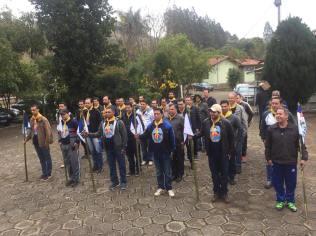 Pastores são divididos em unidades para realizar as atividades do Pastori. (Foto: Arquivo Pessoal/Gustavo Marques)
