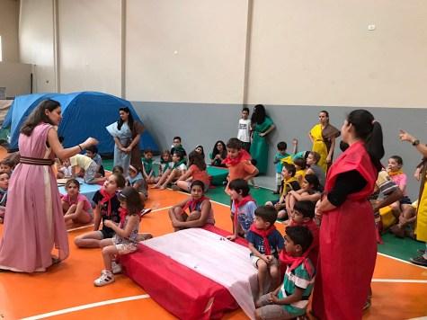 42 crianças participaram do projeto, das quais sete não são adventistas.