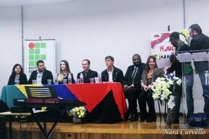 Cerca de 70 alunos concluíram o curso de Língua Portuguesa oferecido pelo IFSC em parceria com a Ação Solidária Adventista. [Foto: Nara Curvello].