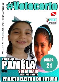 Os candidatos capricham no material de campanha (Foto: divulgação)