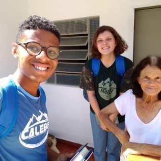 Cadu Oliveira, líder da Missão Calebe em Chácara/MG