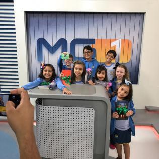 Crianças fazem participação especial no jornal da edição desta sexta-feira (16)