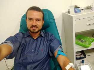 Doação de sangue em Teixeira de Freitas