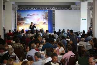 350 líderes participaram do concílio administrativo em Varginha. (Foto: Mayra Marques)