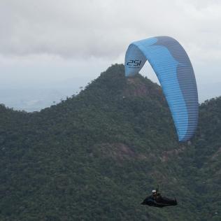 Campeonato Mundial de Parapente é realizado até o próximo dia 30