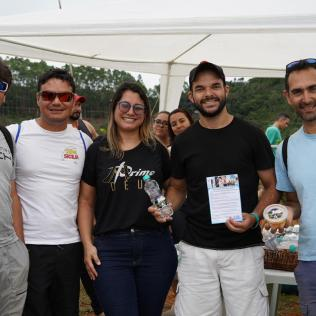Adventistas da região promoveu uma ação de saúde para os pilotos