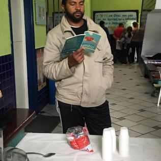 Livro missionário do ano também foi distribuído ao longo da programação