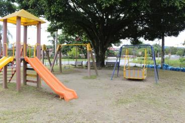 Espaço infantil também recebe cuidados dos voluntários. [Foto: Bem pelo Bem].