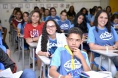 Jovens receberam treinamentos em sala de aula, em forma de oficinas (Foto: Elvis Natali)