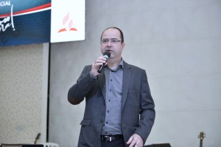 Pastor Aguinaldo Guimarães participou do Calebe Training com mensagens de motivação (Foto: Renan Lima)