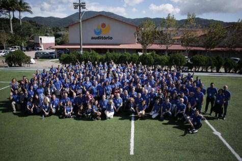 Ao todo, foram cerca de 200 profissionais participantes