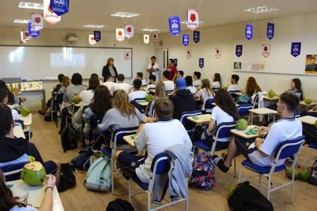 Já são 42 participantes e faltam apenas 8 vagas para todo o Ensino Médio, fazendo de cada vaga uma disputa acadêmica