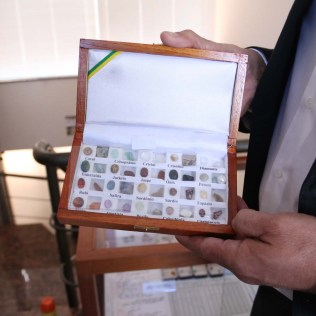 Pedras semi-preciosas citadas na Bíblia. (Foto: Mauren Fernandes)