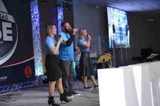Evento contou com a participação musical do Art'Trio (Foto: Maxwell Santana)