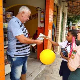 Campanha em Paraíba do Sul (RJ)